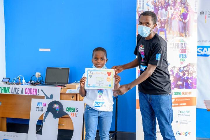 Bezalel Magede representing Rwanda